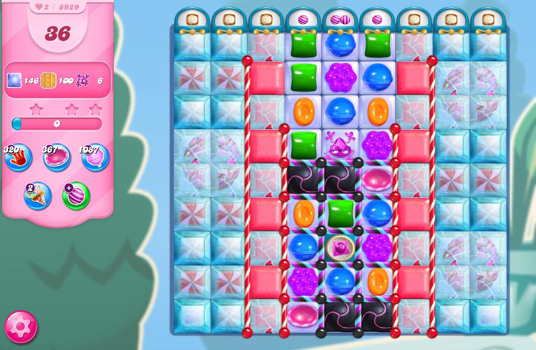 Candy Crush Saga level 8929