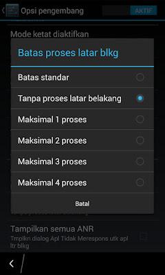 Tutorial Hemat Penggunaan RAM Blackberry z10+ (BBZ10+) 6
