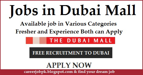Jobs in Dubai Mall