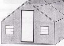Gambar Bentuk rumah kaca
