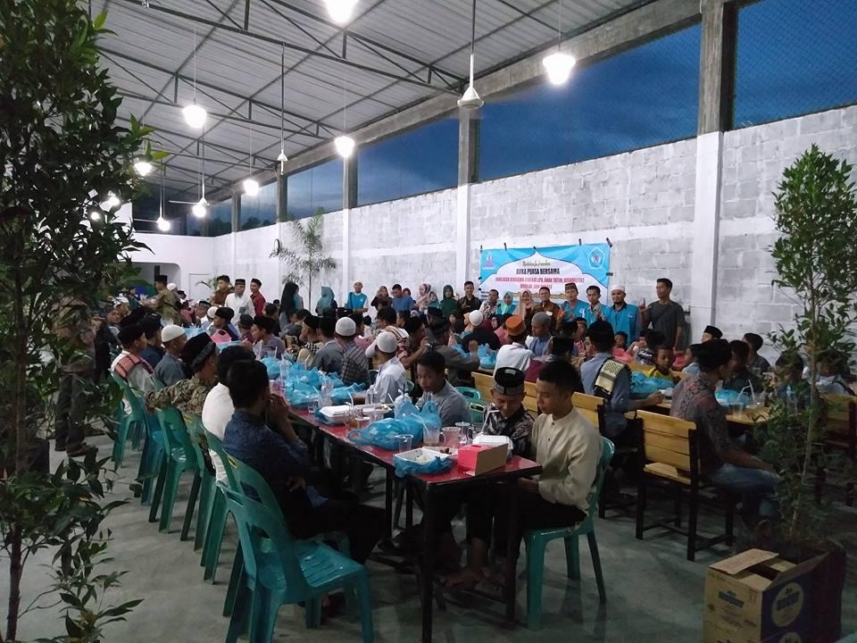 LPD Buka Puasa Bersama Dhufa, Anak Yatim, Mualaf dan Penyandang Disabilitas