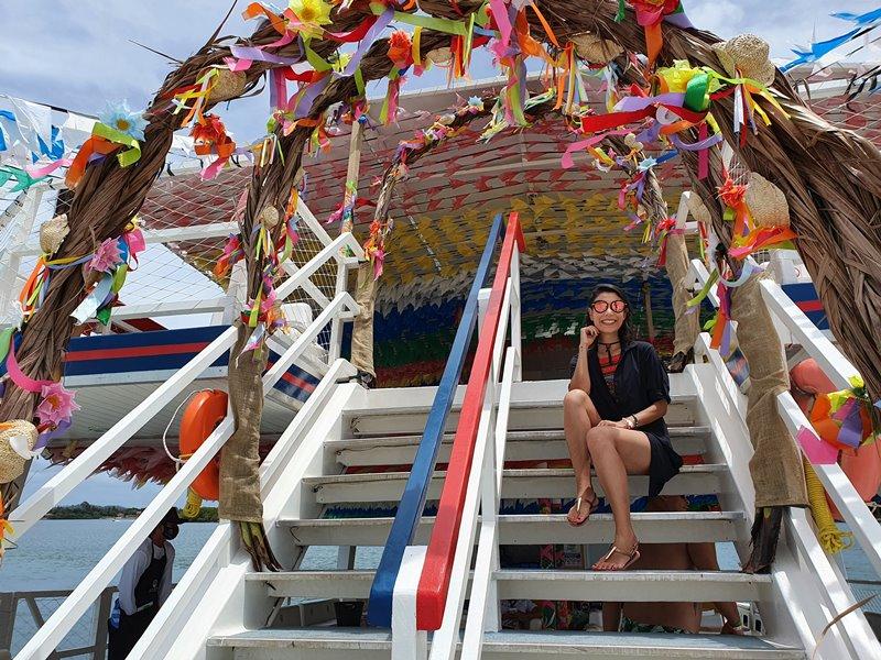 Passeio de Catamarã em Aracaju