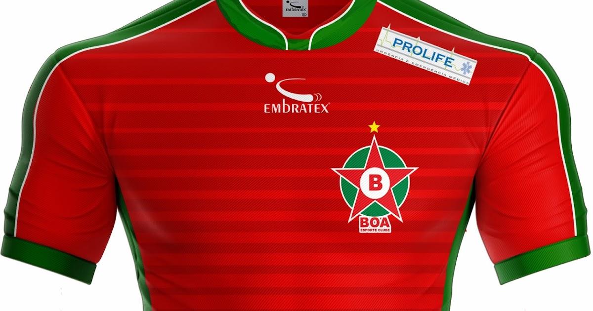7722e2bd91 Embratex lança as novas camisas do Boa Esporte - Show de Camisas