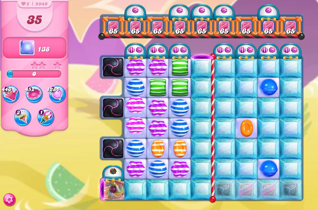 Candy Crush Saga level 9949