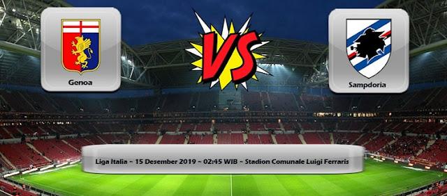Prediksi Genoa Vs Sampdoria 15 Desember 2019