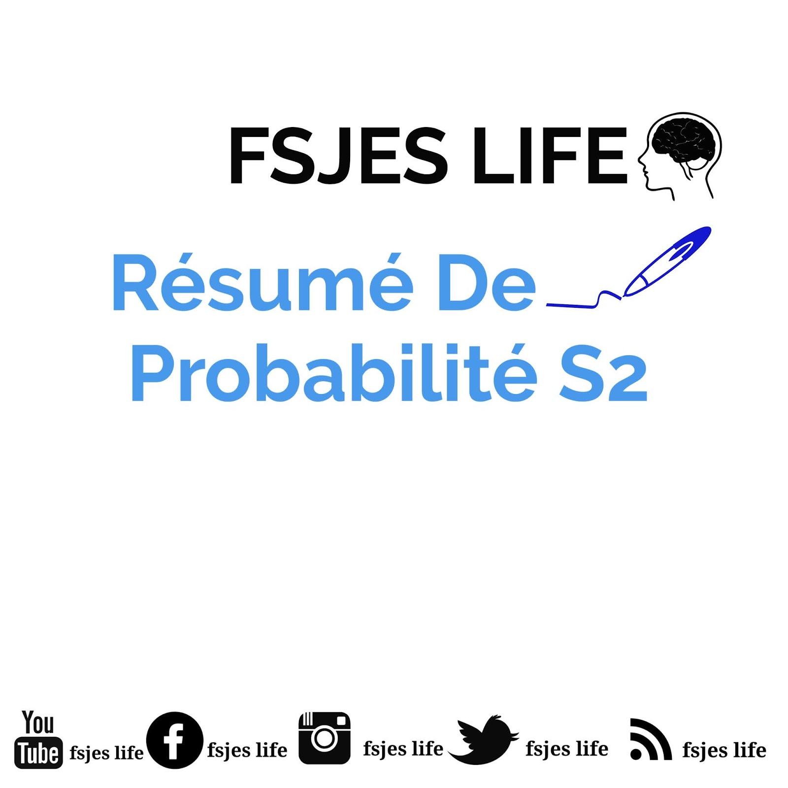 Probabilité S2