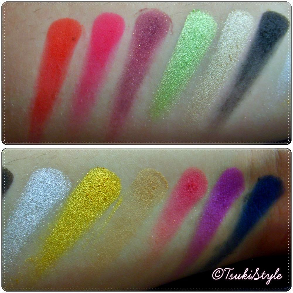 rio rio sleek swatches