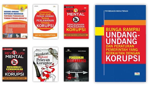 Buku Pendidikan Anti Korupsi dan Pendidikan Karakter Untuk Koleksi Perpustakaan Desa