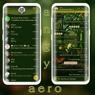 Melody Theme For YOWhatsApp & Aero WhatsApp By Ave fénix