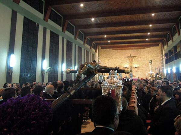 El Vía Crucis del Consejo de Hermandades de Huelva se celebrará en la Plaza de la Constitución