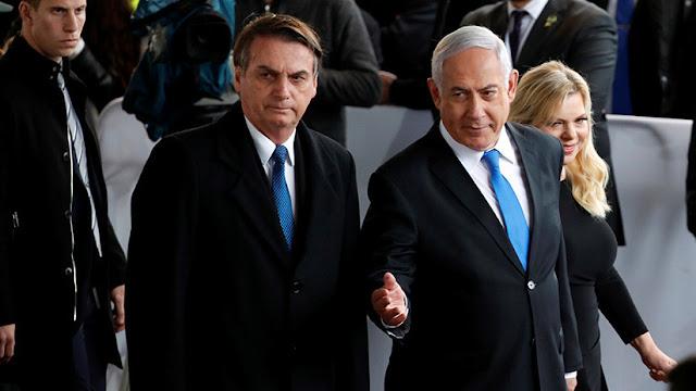 Netanyahu se reúne con Bolsonaro en Tel Aviv en medio de las tensiones con la Franja de Gaza