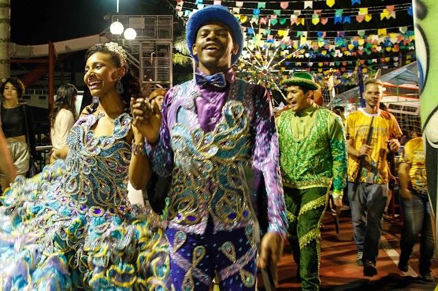 Festa Julina Arraía Solidário dia 22 de julho na  Praça da Paz