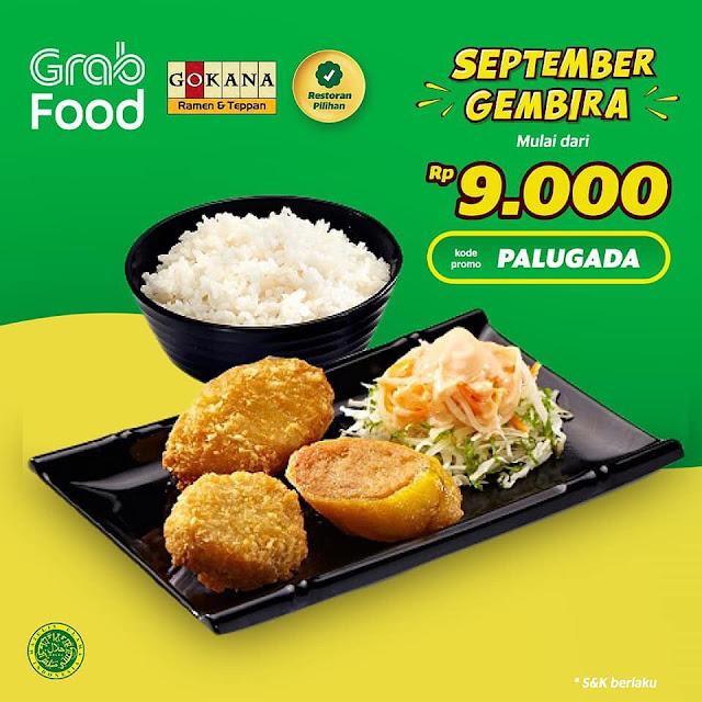 #Gokana - #Promo September Ceria Mulai 9K Dengan Grab Food (s.d 15 Sept 2019)