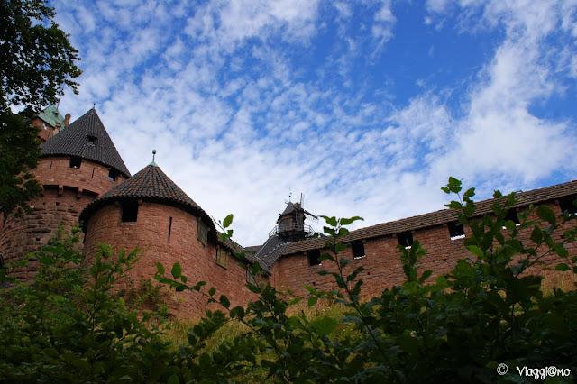 Il castello di Haut Koenigsbourg