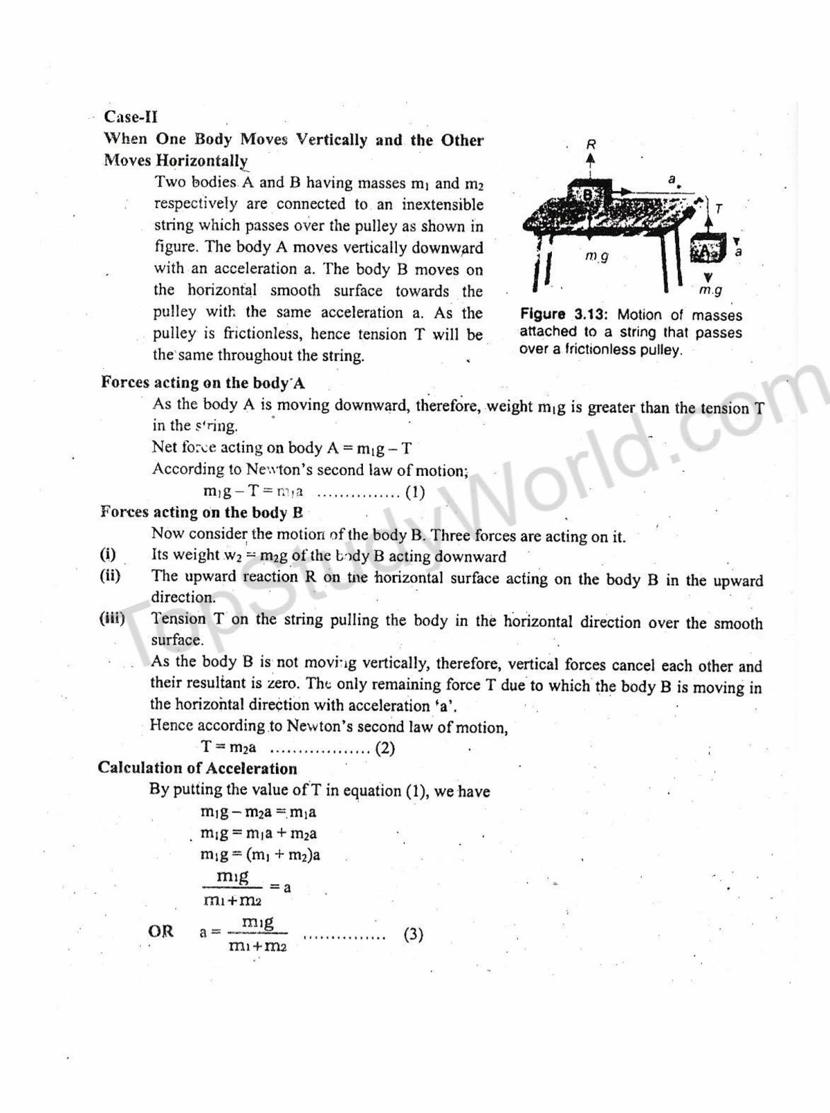 Kips 9th Class Dynamics Physics 3rd Chapter Notes With