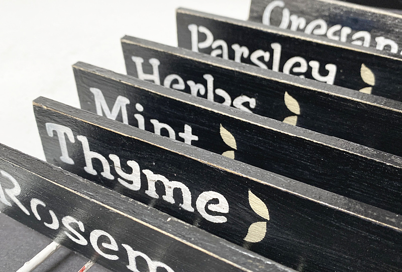 Easy to Make Herb Plant Markers