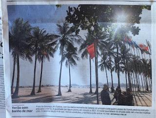 Com bandeira verde o ano inteiro, praias da Ilha Comprida garantem o verão com banho de mar