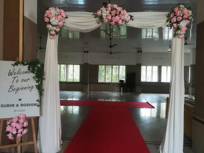 Entrance Decoration in Cochin