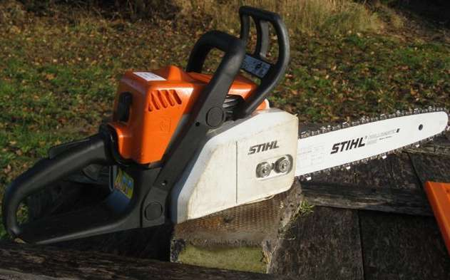 clay club brand new stihl ms 170 chainsaw for sale. Black Bedroom Furniture Sets. Home Design Ideas