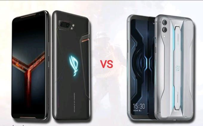 ASUS ROG phone 2 akan di tantang oleh Black Shark 2 Pro yang akan Resmi masuk Indonesia