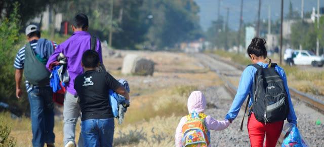 Niños migrantes en México.UNICEF México