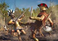 Una batalla literalmente épica en Assassin's Creed Odyssey