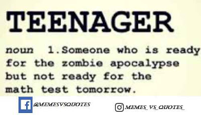 Ready for zombie but not for math