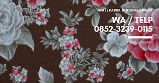 Wallpaper Dinding Bunga 0852 3239 0115