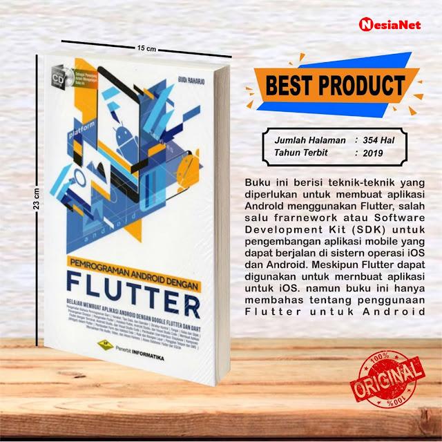 Jual Buku Pemrograman Android dengan Google Flutter dan Dart