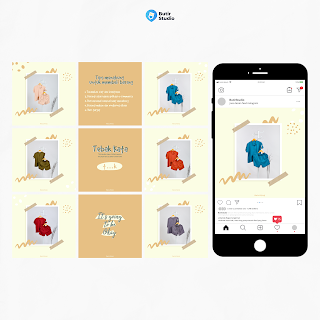 jasa desain feed instagram murah
