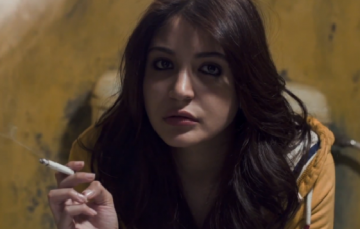 NH10, Directed by Navdeep Singh, starring Anushka Sharma, smoking a cigarette