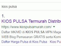 Halaman Awal Hasil Pencarian Google dan Pengetahuan Tentang Peringkat Search Engine