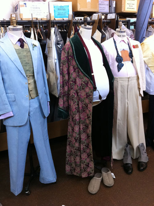 Costumes for Don Pasquale