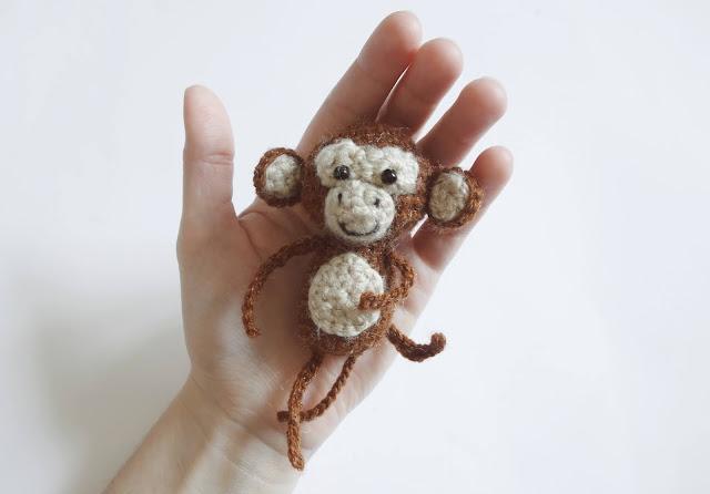 jak zrobić małpkę na szydełku