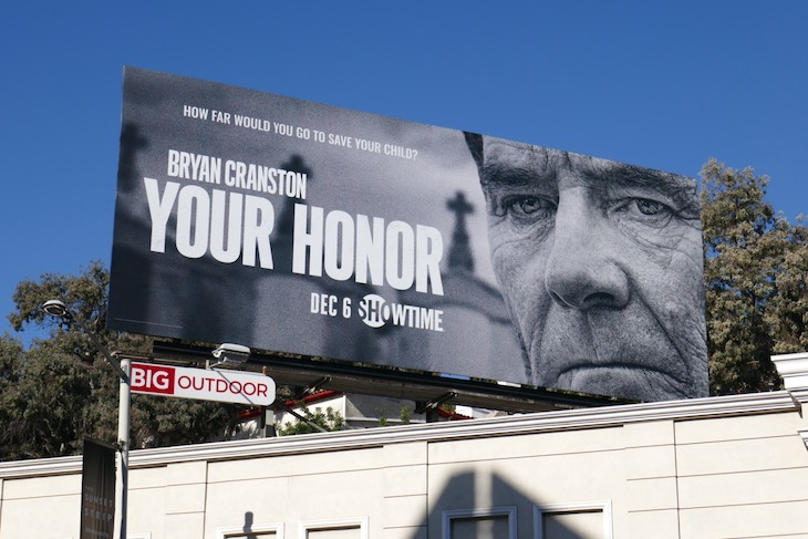 Your Honor series premiere billboard