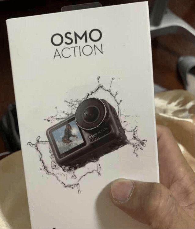 Упаковка DJI Osmo Action