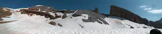 Rampas de nieve del Taillon