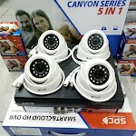 Paket CCTV 4 CH 2MP CANYON