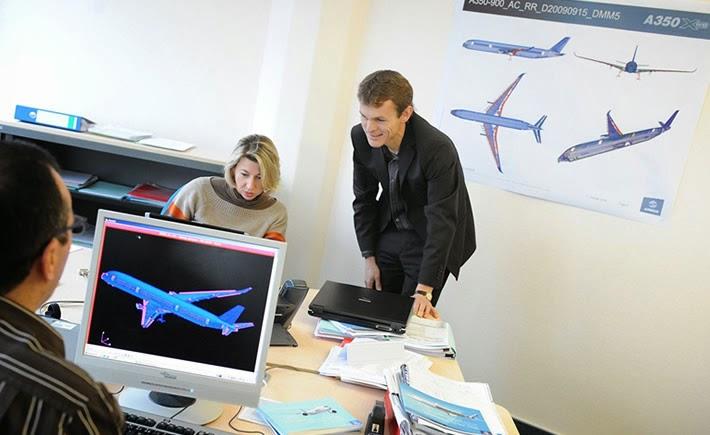 Sólo 18% del sector aeroespacial está utilizando tecnología global de proveeduría en toda la empresa. (Foto: Airbus)