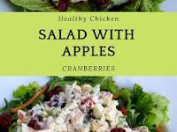 Chicken Salad with Apples & Cranberries