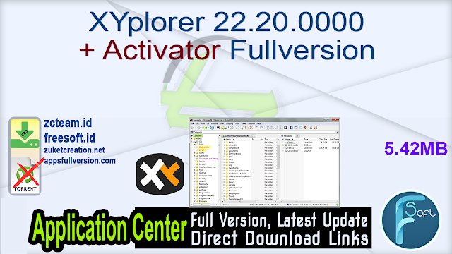 XYplorer 22.20.0000 + Activator Fullversion