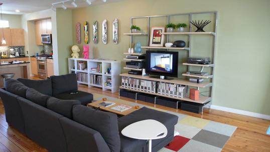 Beamer S Living Room E