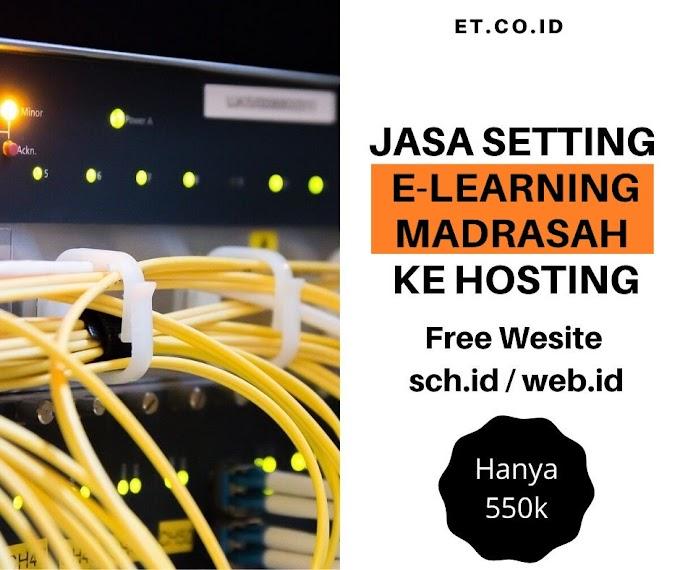 Meng-ONLINE-kan Aplikasi E Learning Madrasah di Server Internet Tanpa Ribet Setting Modem