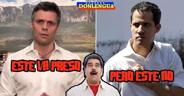 Maburro pide extradición de Leopoldo López mientras que Guaidó camina libre por Caracas