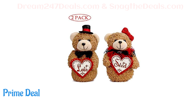 68% OFF Small Teddy Bears Couple 2 Pack