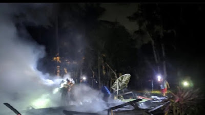 Kebakaran di Panyula Bone Hanguskan Rumah Warga, 1 Orang Luka Bakar