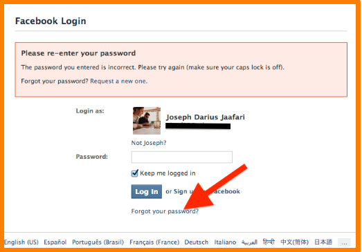Facebook Com Login Sign Up And Learn More