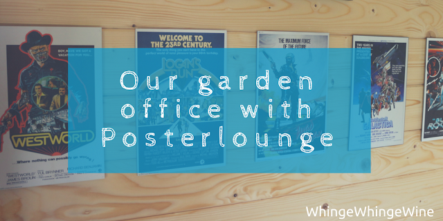 Our garden office (part deux) with Posterlounge review and giveaway