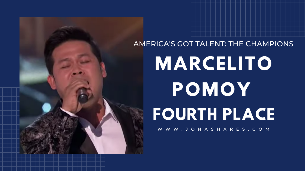 AGT: The Champions: Marcelito Pomoy, 4th Place