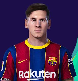 PES 2021 Faces Lionel Messi (2015) by Lucas
